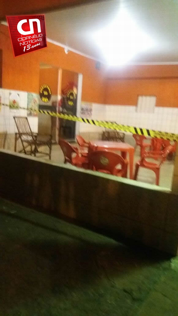 Comerciante é assassinado em soverteria